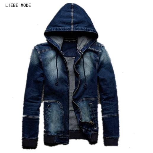 Aliexpress.com  Buy 2017 Spring Autumn Mens Hooded Denim ...