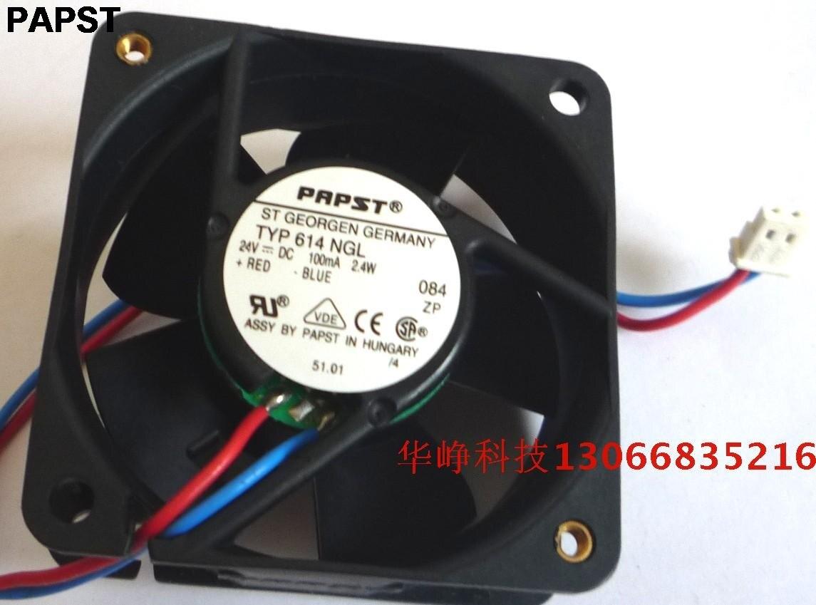 PAPST のため標準 614 NGL 6025 24 v 2.4 ワット 6 センチメートル冷却ファン