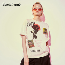 Casual Samstree Tops Floral