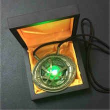 Avengers 4 Endgame 1:1 LED light Dr Doctor Strange Pendant Eye Of Agamotto Necklace Collection Cosplay halloween Christmas props - DISCOUNT ITEM  30% OFF All Category