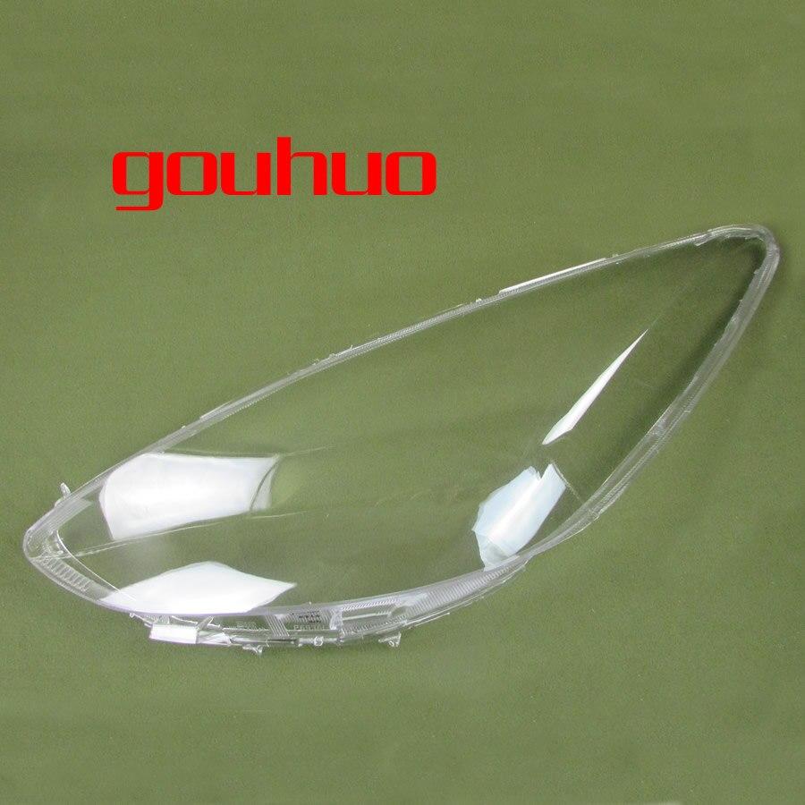 2 шт. фар shell абажур Прозрачная крышка фар стекло фары Обложка для Mazda 2 M2