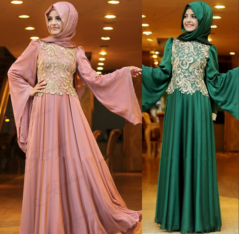 2015 Latest Design Ladies Dresses Fashion Flare Long -6730