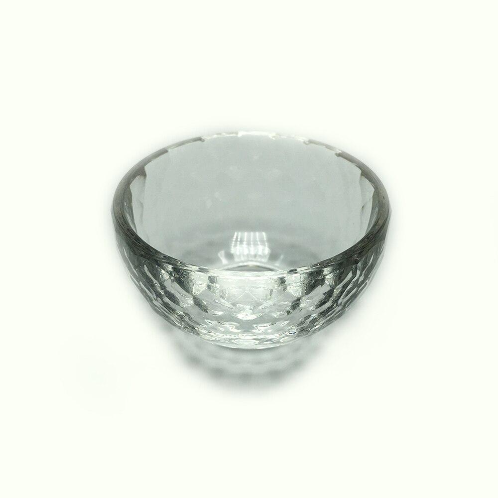 Neue Mode Freies Verschiffen 1 Pc Ausgezeichnete Hand Madeshinning Facet Kristall Klar Christian Decor Heilige Wasser Schüssel Ohne RüCkgabe