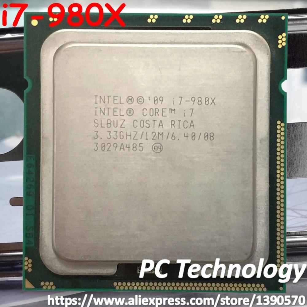 Original Intel Core i7 980X Processor Extreme Edition i7 980X 3 33GHZ 6 Core 12M Cache