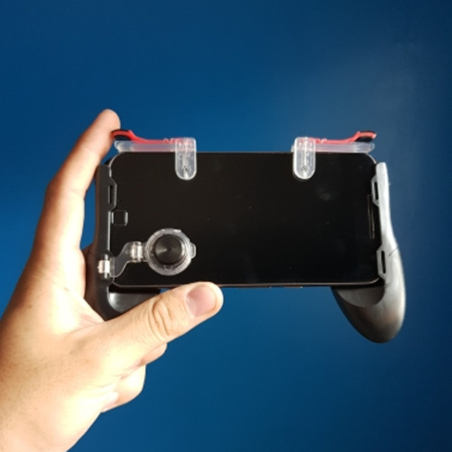 Group Vertical Game Gamepad for Mobile Phone Game Controller and Auxiliary Quick Button for IPhone r29