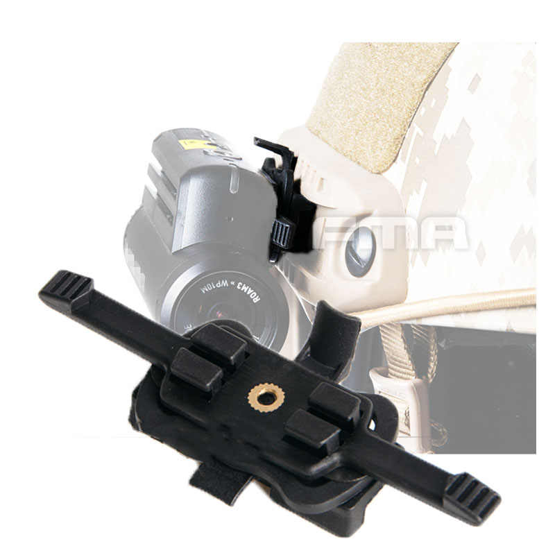 Тактический шлем Крепление для контура HD Экшн-камера адаптер для быстрого шлема направляющий кронштейн крепление страйкбол Пейнтбол Открытый Охота