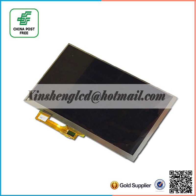 Original 163*97cm 30pin 1024*600 lcd screen for SUPRA M74AG Tablet display Replacement Free Shipping