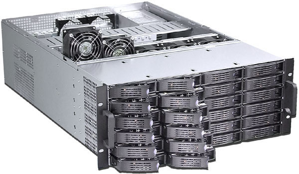 Chassis 4U650  hot-swap storage server monitoring Computer case