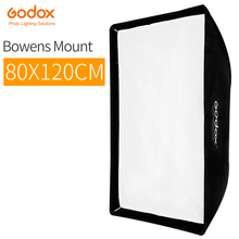 Godox SB-UE 80x120 см 31 ''* 47'' портативный прямоугольный Зонт Bowens крепление софтбокс с сумкой для студийной вспышки