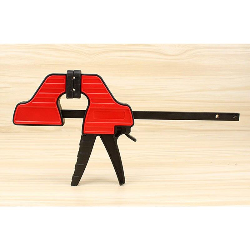 Woodworking Fixture Tools Big Size Light Clamp Adjustable Head F Shape Clip  цены