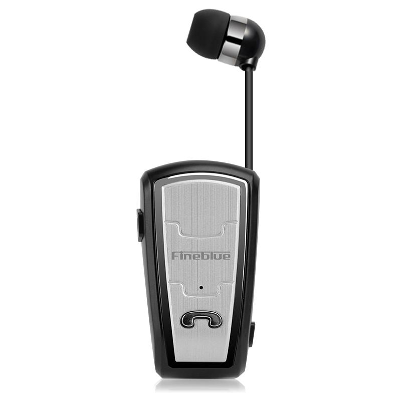 Original FineBlue FQ208 Clip-on Bluetooth Headset Anti-lost Retractable Wireless Earphone Clip Handsfree Headphone With Micr (18)