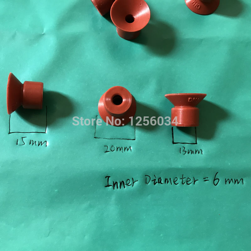 100 pieces Suction nozzle of offset printing machine Binder suction nozzle printing rubber sucker