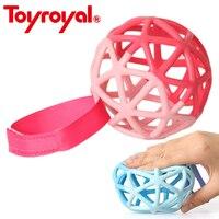 גילוי Toyroyal גמיש Bendy כדור & Teether רך עם לולאה רול חושי תינוק צעצועים לילדים משחק לתינוק ילדי מתנה לשחק