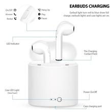 I7s TWS auriculares inalámbricos Bluetooth auriculares I7 auriculares deportivos con micrófono para teléfono inteligente iPhone Xiaomi Samsung Huawei LG
