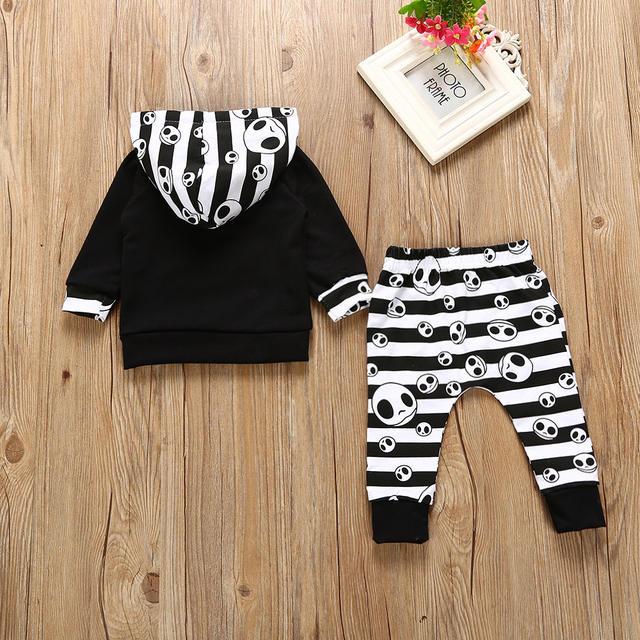 HALLOWEEN SKULL BABY OUTFITS