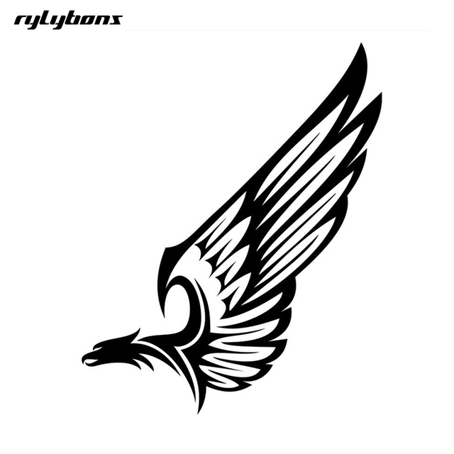 Rylybons car sticker animal the 2nd half price eagle wings 25cm18cm viny car