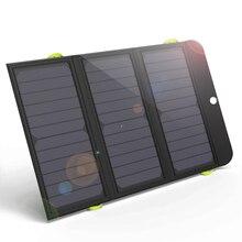 ALLPOWERS שמש כוח בנק 5V 21W מהיר טעינת מטען סולארי עבור iPhone 6 6s 7 7 בתוספת 8 X סמסונג Xiaomi Huaming Sony HTC LG