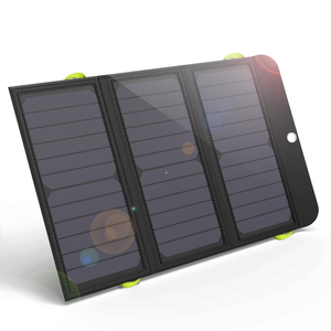 Image 1 - ALLPOWERS Solar Power Bank 5V 21W Quick Charging Solar Charger for iPhone 6 6s 7 7plus 8 X Samsung Xiaomi Huaming Sony HTC LG