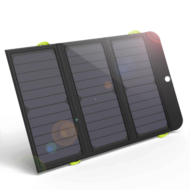 ALLPOWERS Solar Power Bank 5V 21W Quick Charging Solar Charger for iPhone 6 6s 7 7plus 8 X Samsung Xiaomi Huaming Sony HTC LG