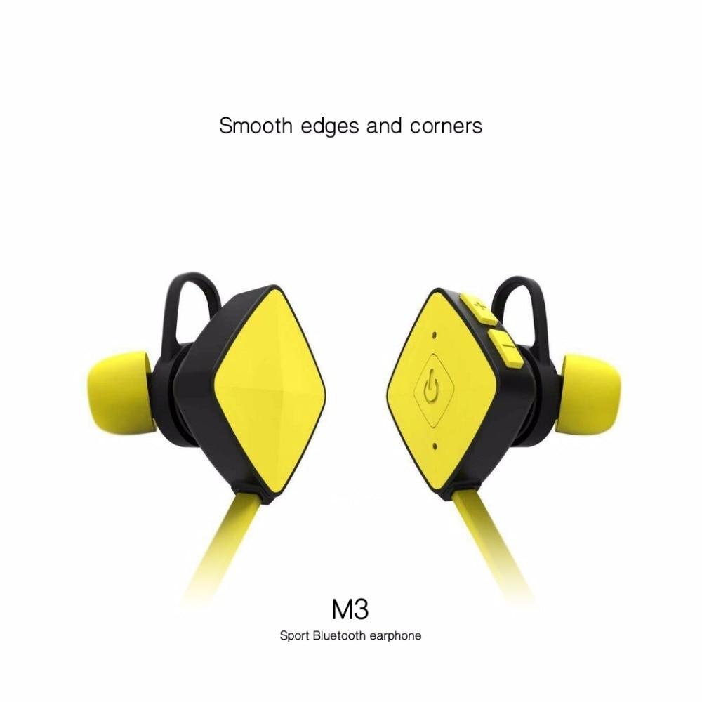 FITZ M3 Wireless Bluetooth Headset Sports Bluetooth Earphones Headphone with Mic Bass Earphone for Xiaomi Samsung iphone factory price binmer 1pc sports wireless bluetooth headset earphone headphone for samsung jy27 drop shipping