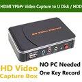 Подлинная Ezcap 280 Игры Video Capture Box HDMI YPbPr Записи для Xbox PS3 PS4 ТВ Видео Камеры Медицинские Эндоскопы Видео запись