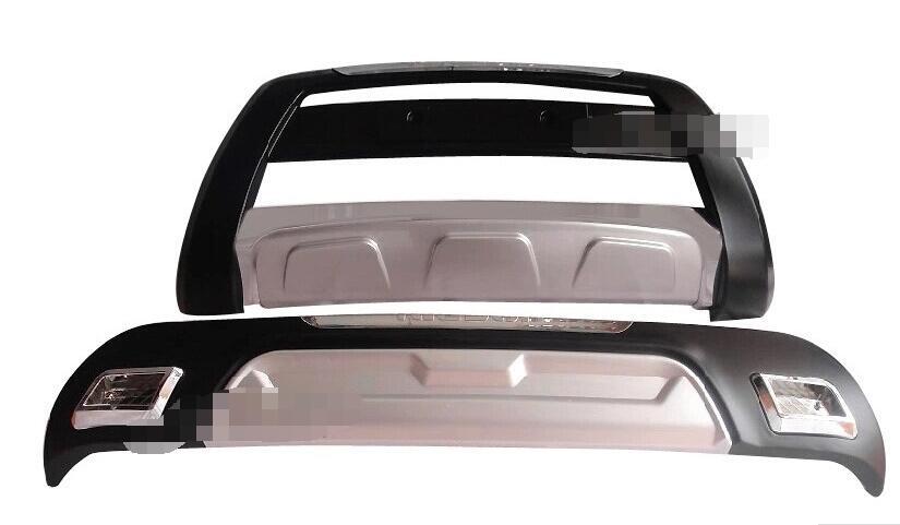 front+ Rear Bumper board guard skid plate bar Protector for Hyundai tucson 2013 2015