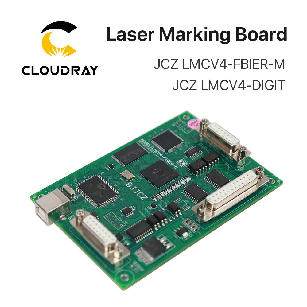JCZ Macchina Per Marcatura Laser Controller Semplice Economico Carta V4 Ezcard per 1064nm Fibra Macchina di Marcatura IPG Raycus MAX