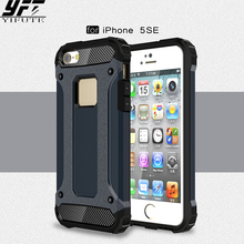 ФОТО yifute phone case for iphone 5s cover slim armor anti-shock silicone hard pc phone case for iphone 5s case for iphone 5 5s se