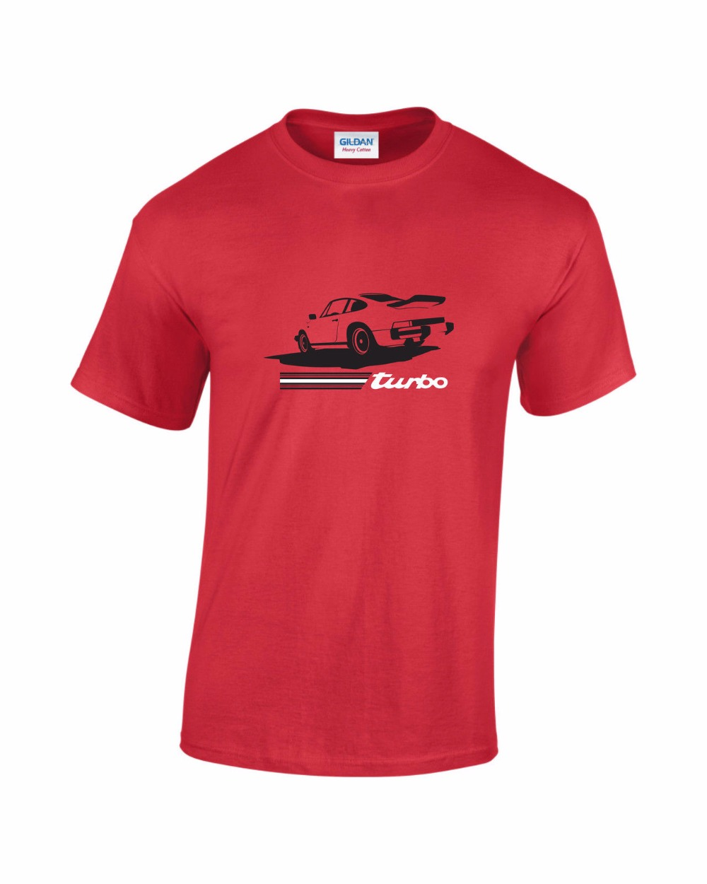 2018 Newest Hot Sale 100% cotton Print Short Sleeve T Shirt Men 911 Turbo Old School Retro Car Cheap Tee Shirt Design