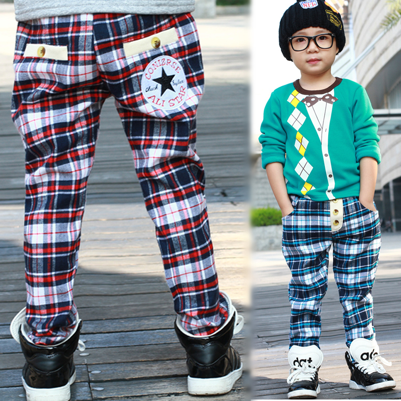 Popular Boys Plaid Pants-Buy Cheap Boys Plaid Pants lots from ...