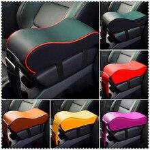 Кожаный Автомобильный Брелок с подлокотник Авто центральной консоли подлокотник сиденья Коробка для Volkswagen VW Polo Golf 4 Golf 6 Golf 7 CC Tiguan Passat B5