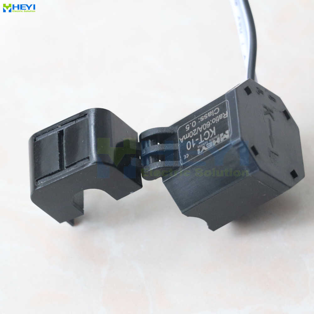 Open Current Transformers Transformer 10mm Hole KCT-10 5A 20A 60A 75A Hinge