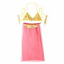 Sexy Costumes Lingerie-Set Dancing Erotic Bra Lenceria Hot Patent Long Veil-Pole Gold