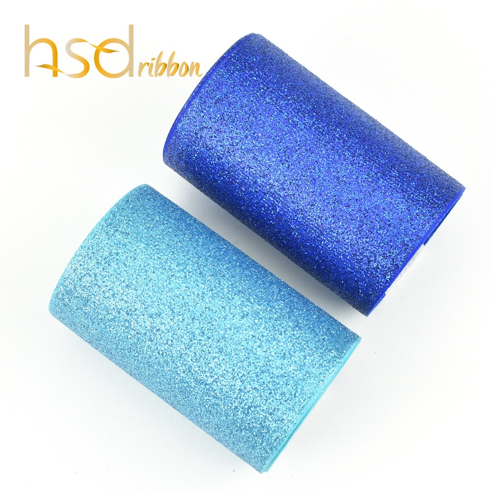 HSDRibbon 75 مللي متر 3 بوصة الفيروز و الأزرق الداكن الصلبة بريق المطبوعة Grosgrain الشريط-في أشرطة من المنزل والحديقة على  مجموعة 1