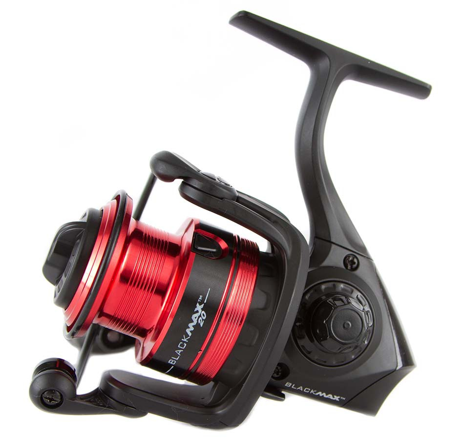 Abu Garcia BLACK MAX BMAXSP 1000-6000 Series Spinning Reel 3+1BB Lightweight Graphite Body Saltwater Spinning Fishing Reel abu garcia revo deez 9 1bb 6 2 1 1000 spinning reel jb top50 professional angler special design freshwater fishing reel tackle