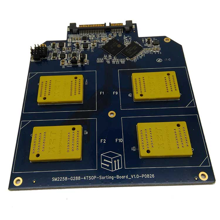 SSD 4 in 1 Multiple Function Test Board BGA152/132/100/88 TSOP48 NAND Flash Test Circuit SM2258H Controller Flash Memory 3D nand the ssd circuit board ssd pcba jmf612 jmf604 controller diy ssd sata3gb s interface ssd pcba flash interface tsop48