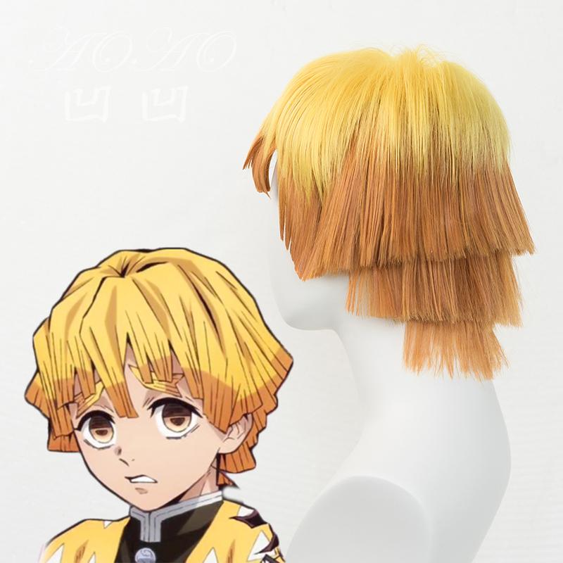 Sideview Zenitsu Wig