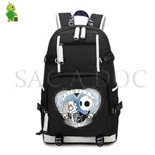 The Nightmare Before Christmas Luminous Laptop Backpack Jack Sally Men Women Travel Rucksack Large Capacity Laptop Backpack(China)