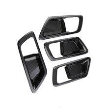 Autocollant de poignée de porte intérieure Toyota | Voiture à brûler, ABS décoration de porte intérieure bol de porte intérieure, accessoires