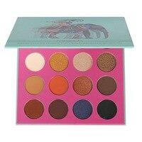 16 Color Eyeshadow Pallete Professional Make Up Palette Matte Shimmer Glitter Pigmented Eye Shadow Powder Makeup