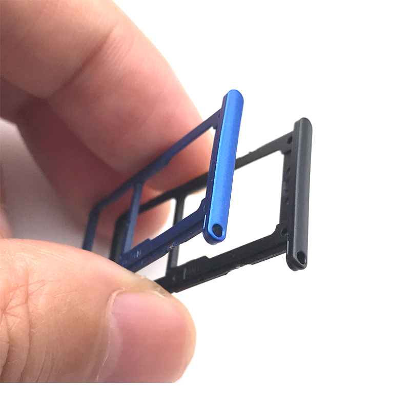 Huawei P20 Sd Karte.Us 1 36 9 Off New For Huawei P20 Lite Nova 3e Sim Card Tray Micro Sd Card Holder Slot Adapter Parts In Mobile Phone Flex Cables From Cellphones
