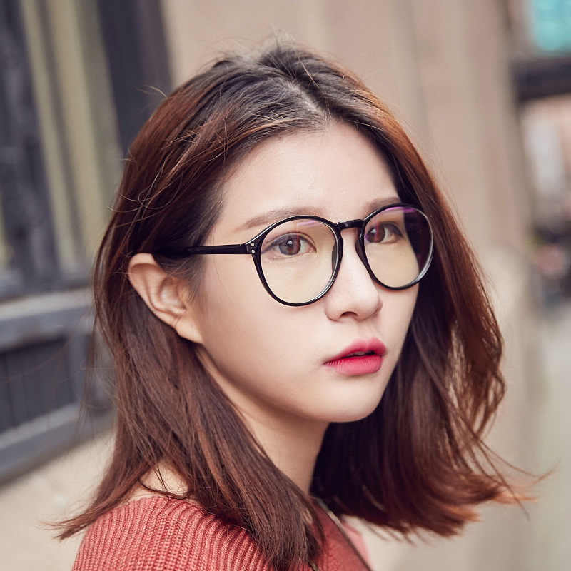 2265a8a5a8b Detail Feedback Questions about 2018 Fashion Retro Round Women men Eyeglasses  Spectacles Frame Optical meter nail Glasses Plain mirror computer reading  ...