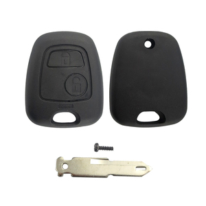 Image 4 - OkeyTech for Peugeot 106 206 306 406 Key Shell 2 Button NE73 Blade Replacement Remote Control Car Cover Case with 2 Micro Switch