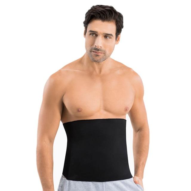 new Men's Sweat Vest Body Shaper Shirt Thermo Slimming Sauna Suit Weight Loss Black Shapewear Ultra Neoprene Waist Trainer Belts 1