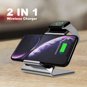 Image 5 - Ascromy Wireless Qi Phone Holder Stand Dock Charger 10W For Apple Watch Series 4 3 2 Iphone XS MAX XR 8 Plus X iwatch station