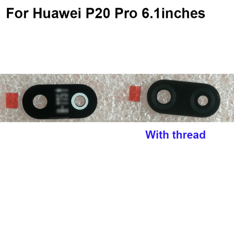Original New For Huawei P20 Pro P 20 Pro P20Pro Back Camera Glass Test Good  6.1'' Inch