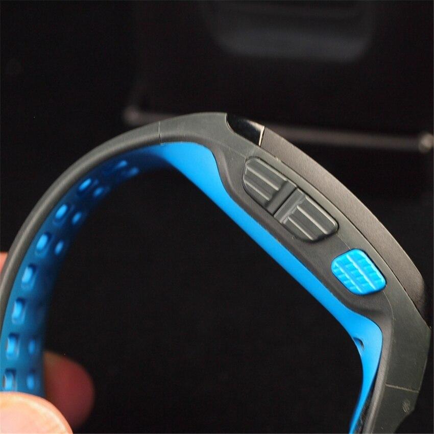 imágenes para Velocidad de Funcionamiento profesional Sportwatch GPS Ubicación Distancia Reloj Elegante Deporte de Ruta GPS Rastreador De Fitness Seleccione Una Alarma Sensor De Cuadro
