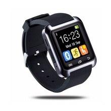 Sport Bluetooth Smartwatch U8 Montre Smart Watch Écran Tactile et Multi Langue Avec rappel Sédentaire pour iPhone pour Samsung Android