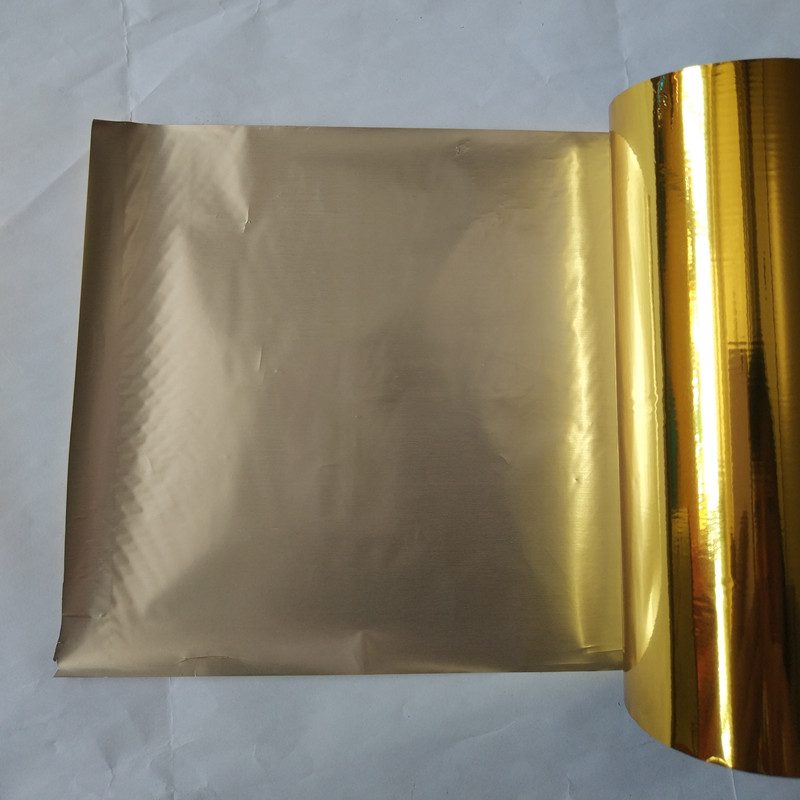 (2rolls/lot) hot stamping foil hot press on paper or plastic gold color 16cm x 120m heat stamping film 4 rolls lot holographic foil b01 hot stamping on paper or plastic 16cm x 120m