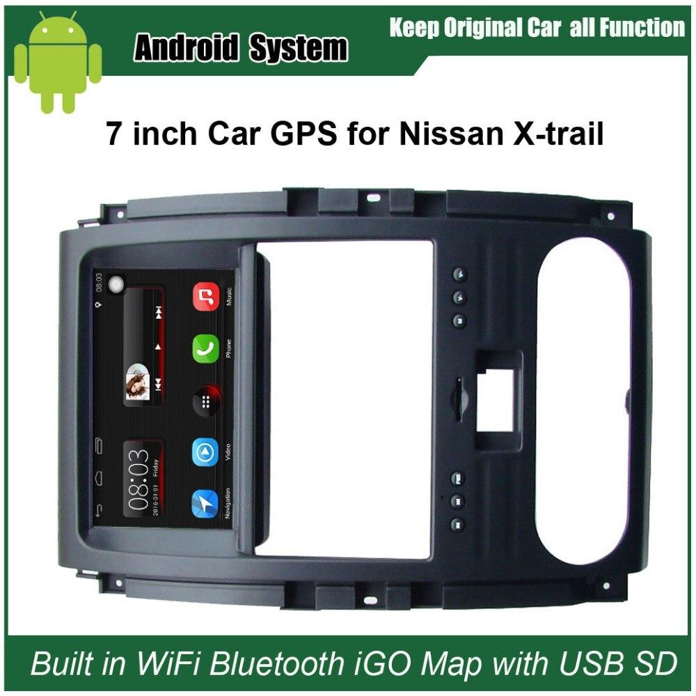 Mise à niveau D'origine Voiture Radio Lecteur Costume pour Nissan x-trail Voiture Lecteur Vidéo Construit en WiFi GPS Navigation Bluetooth